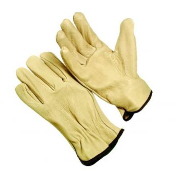 HI-VIS PS UNLINED DRIVER GLOVE - X2 12 Pairs