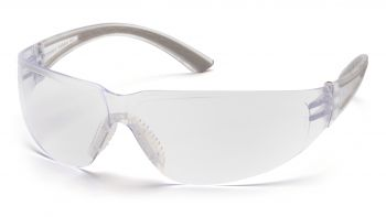 Pyramex  Cortez  Gray Temples/Clear Lens  Safety Glasses  12/BX