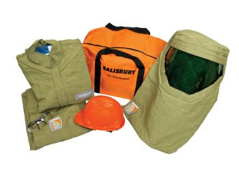 Salisbury Arc Flash SK40PLT-  PRO-WEAR Personal Protection Equipment Kits 40 cal/cm2 Brown Color - 1 EA
