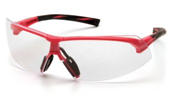 Pyramex Onix Pink Frame/Clear Lens (1 Box of 12)