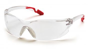 Pyramex Achieva Pink Temples/Clear Lens (1 Box of 12)