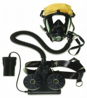 Honeywell 560004 SC420 CBRN Powered Air Purifying Respirator (NIOSH)  with D-Cell Battery Pack