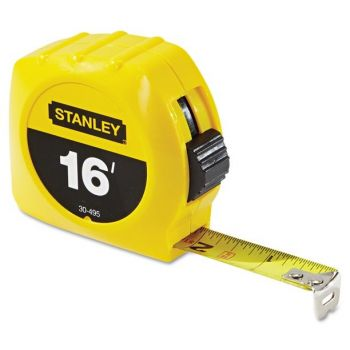 """Stanley 3/4"""" X 16' High Impact Yellow Tape Measure, 1 Each"""