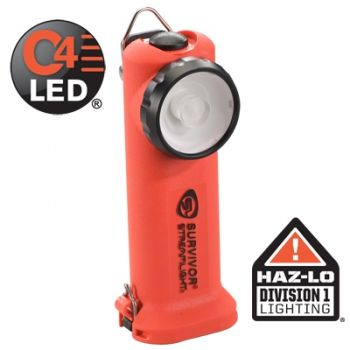Streamlight Survivor Flashlight LED Light  (without charger) 90500 Orange