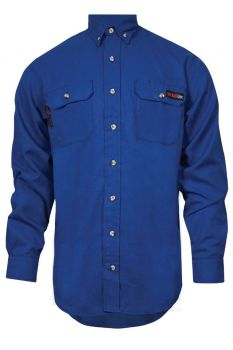 NSA TCG01130 TECGEN SELECT FR Work Shirt  Blue