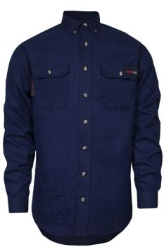 NSA TCG011602 TECGEN SELECT FR Work Shirt Navy