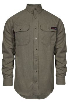 NSA TCG01120 TECGEN SELECT FR Work Shirt Tan
