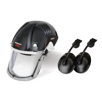 Trend AIR/PRO Face Shield USA 120V with Ear Defenders | U*DEAL/Q4/A