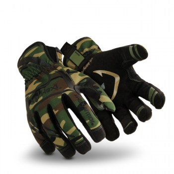 HexArmor Hex1 2121-CAM Work Gloves Camo Color - 1 Pair
