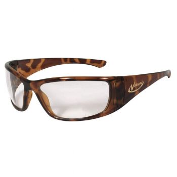 Radians Vengeance Clear - Tortoise Shell Frame Safety Glasses  Style  Color - 12 Pairs / Box