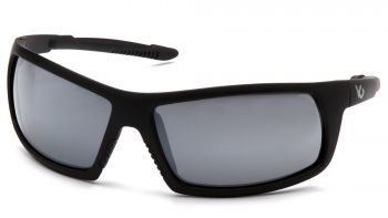 Venture Gear Tactical - Stonewall - Black Frame/Silver Mirror Anti-Fog Lens Polycarbonate Safety Glasses - 1 / EA