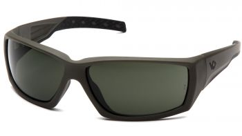 Venture Gear Tactical  Overwatch  OD Green Frame/Smoke Green Anti Fog Lens Polycarbonate Safety Glasses  1 / EA