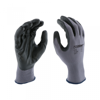 PIP West Chester 713SNF PosiGrip Seamless Knit Polyester Glove with Nitrile Coated Foam Grip, 1 Dozen