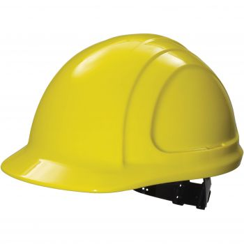 Honeywell North Zone Hard Hat N10020000  Yellow Quick Fit Style (Cap and Suspension Assembly) 12/Case