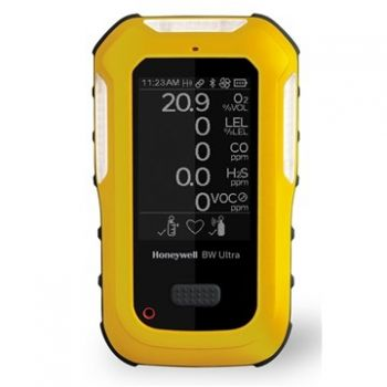Honeywell BW™ HU‑X1W1H1M1A1‑Y‑N Ultra 5-gas detector (O2, LEL, H2S, CO, NH3)