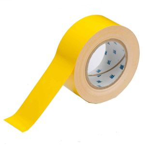 """ToughStripe Floor Marking Tape Roll  Polyester Solid  Yellow 2"""" x 100'"""