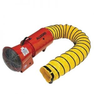 Allegro 9514 Axial Air Blower with Canister and Ducting