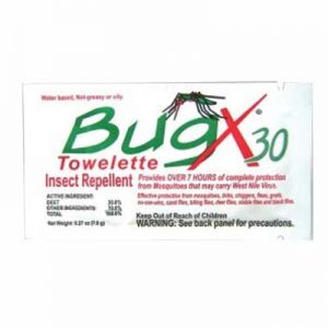 BugX Insect Repellent Towelette-300/Box