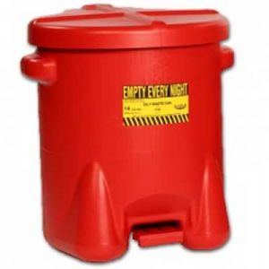 Eagle 10 Gallon Safety Can with Foot Lever