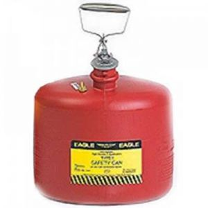 Eagle Safety Can 3 Gallon Disposal Red