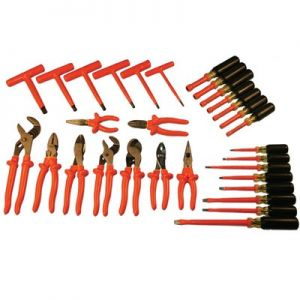 Electrician's 30 Piece Insulated Tool Kit