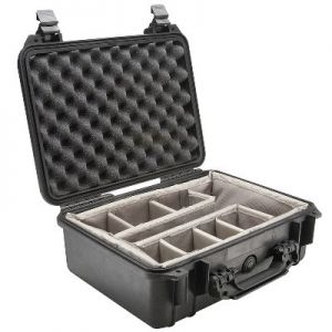 Pelican Case 1454 with Padded Dividers