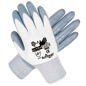 Memphis 9683 Ultratech Gloves from MCR with Nitrile Coating - 15 Gauge (1 DZ)