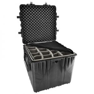 Pelican 0370 Cube Case with Padded Dividers