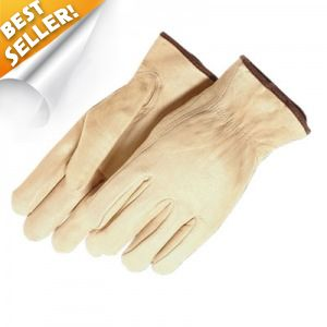 Majestic Children's Leather Drivers Gloves 12 Pairs