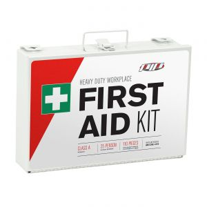 PIP ANSI Class A Metal First Aid Kit - 25 Person