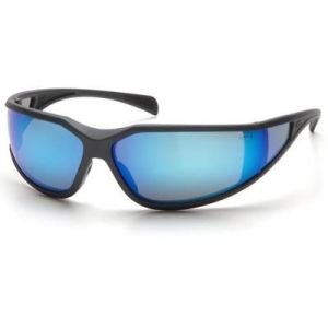Pyramex Exeter Safety Glass - Ice Blue Mirror Lens