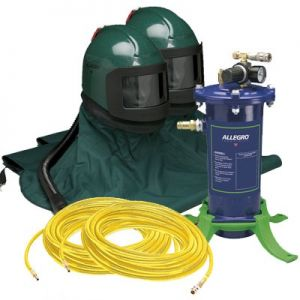 Allegro K3000-2 High Pressure Abrasive Blasting 2-Worker Kit