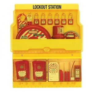 Masterlock 1900VE410 Deluxe Lockout Station