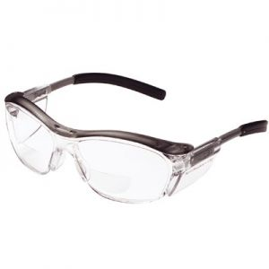 AO Safety Nuvo Bifocal Safety Glasses - Clear Lens