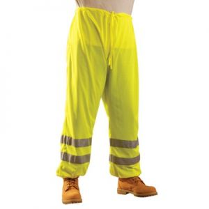 OccuLux High Visibility Pants with Silver Tape - Mesh