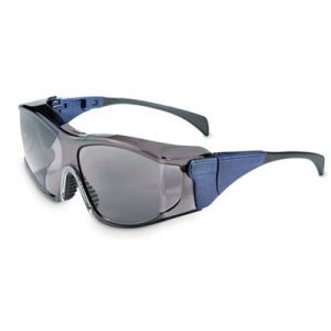 Uvex Ambient Over-the-Glass Safety Glasses - Gray Lens