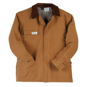Brown Duck Quilt Lined Coat - Level 4