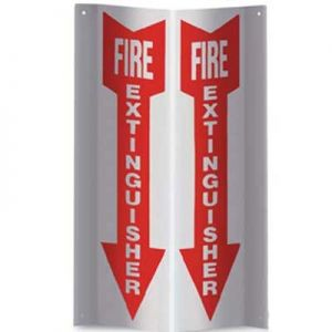 3-D Rigid Plastic Angle Signs - 12 in.