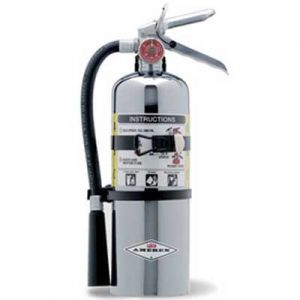 Chrome ABC Dry Chemical Fire Extinguisher