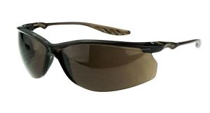 Radians Crossfire 24Seven Safety Glasses One Size Brown Lens - 12 / Box