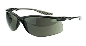 Radians Crossfire 24Seven Safety Glasses One Size Smoke Lens - 12 / Box