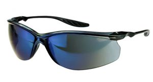 Radians Crossfire 24Seven Safety Glasses One Size Blue Mirror Lens - 12 / Box