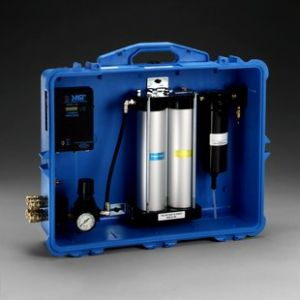 3M™ Portable Compressed Air Filter and Regulator Panel 256-02-00, 50 cfm, 4 outlets, with Carbon Monoxide Filtration and Monitor