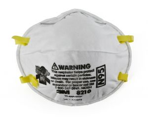 3M 8210 N95 Particulate Respirator Mask, Box of 20