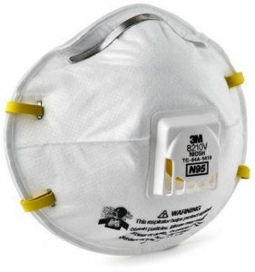 3M 8210V N95 Particulate Respirator - Box of 10