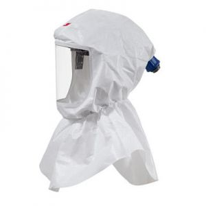 3M™ Versaflo S-655 Hood Assembly with Inner Collar and Premium Head Suspension