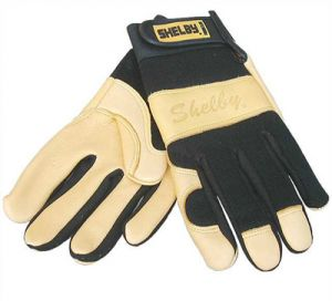 Shelby Goatskin Rescue Gloves 6 Pairs