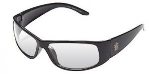 Jackson Safety Smith and Wesson Elite Safety Glasses with Black Frame and Indoor/Outdoor Mirror Lens 12 Pairs