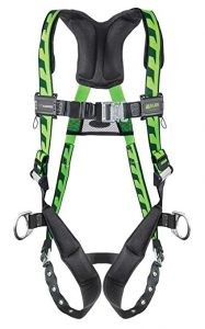 Honeywell Miller AC-TB/UGN AirCore Harness Quick-Connect chest; Tongue buckle leg