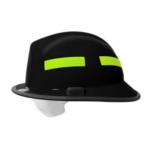 PIP F6 Structural Fire Helmet with Retractable Eye Protector  (7/Case)